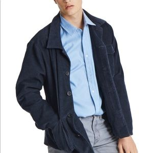TAGs navy corduroy jacket